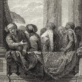 집록 : 베르사유 성의 대계단. 판 20