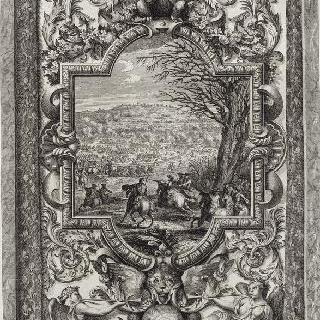 집록 : 베르사유 성의 대계단. 판 21