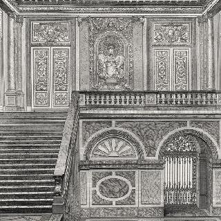 집록 : 베르사유 성의 대계단. 판 22