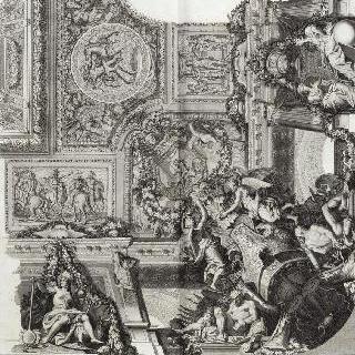 집록 : 베르사유 성의 대계단. 판 25