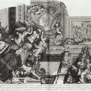 집록 : 베르사유 성의 대계단. 판 27
