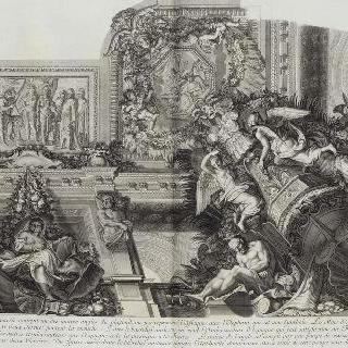 집록 : 베르사유 성의 대계단. 판 28