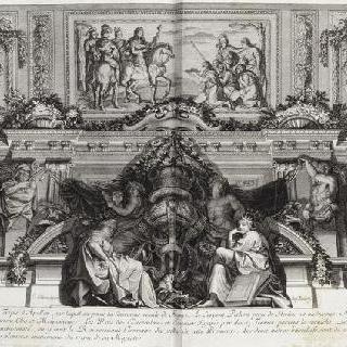 집록 : 베르사유 성의 대계단. 판 29