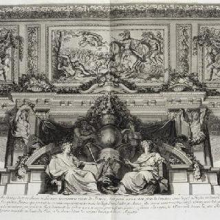 집록 : 베르사유 성의 대계단. 판 30