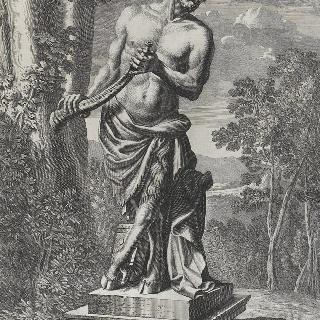 판 45 : 베르사유 정원의 7피트 높이의 사티로스 상 (像)