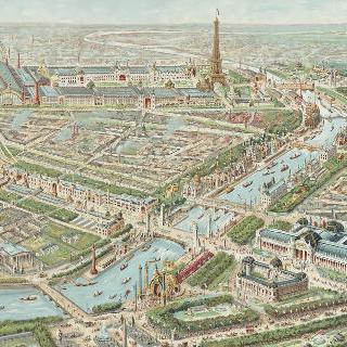 1900년의 만국박람회 전경