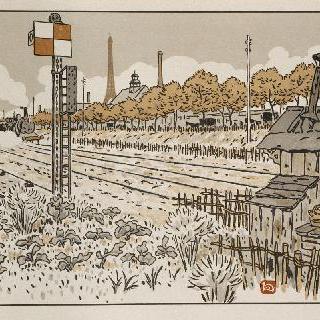 자벨 강기슭 (전철수 가건축물)