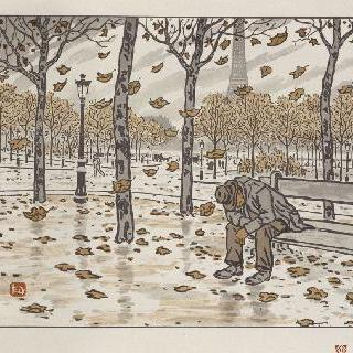 트로카데로 정원, 가을