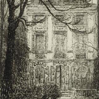 파리의 페르센 백작 저택