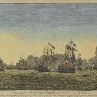 프랑스군과 영국군 사이의 해전