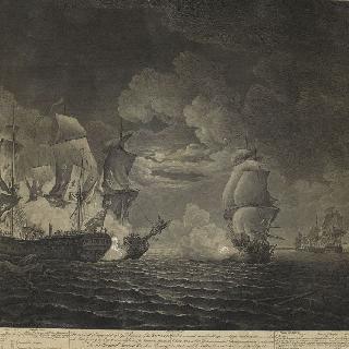 세라피스 범선과 보놈 리샤르 범선간의 전투