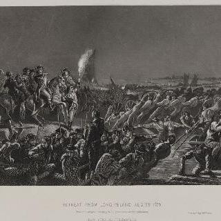 롱 아이슬랜드로 부터 후퇴, 1776년 8월 29일