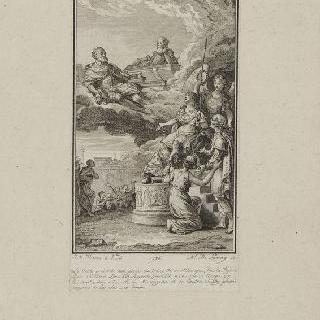 루이 16세와 모르파 가문의 관계에 대한 우의화