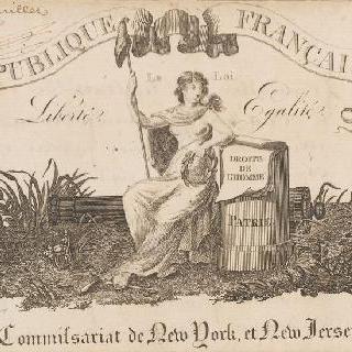 프랑스 공화국, 법, 평등, 인간의 권리. 조국. 뉴욕시 위원