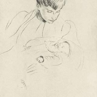 엘뤠 부인과 아기