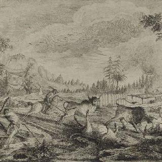 들소 사냥