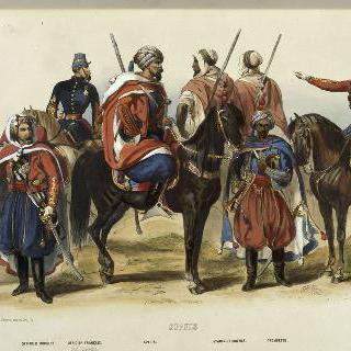 1845년 이전 터키 기병 제복