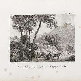 비토리아 근처, 비스케이 산의 길과 강