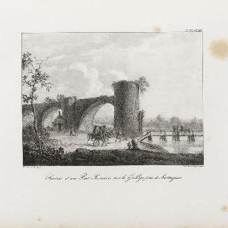 사라고스 근처 갈레고에 있는 로마 다리 폐허