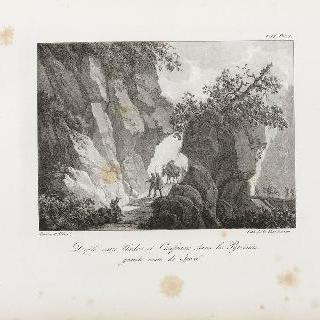피레네 산맥의 우르도스와 칸프란 사이의 행렬