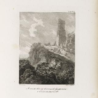 두 카스틸라 경계의 과다라마 정상에 세워진 기념물