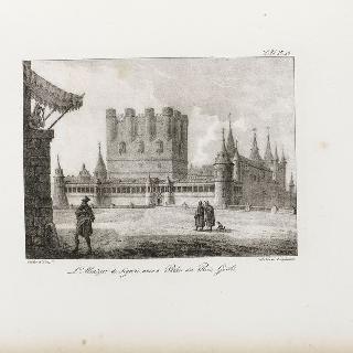 알카자 드 제고비, 옛 고트 왕궁