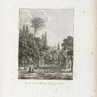 코르두 회교 사원의 정원에 있는 분수