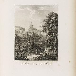 알함브라 안의 샤를-캥트 궁전