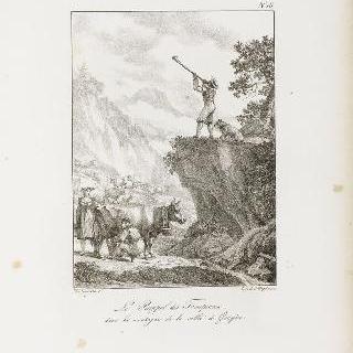 그뤼예르 골짜기 산 속에서 양과 소떼를 부르는 소리