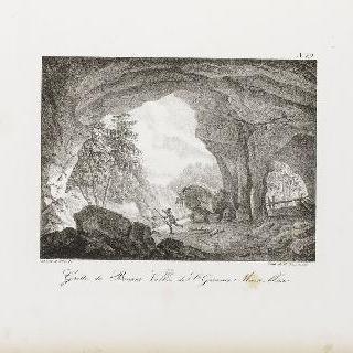 생-제르베 몽블랑 골짜기의 보낭 동굴