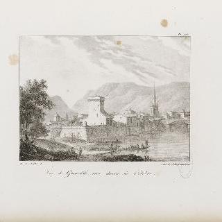 그르노블 전경, 이제르의 오른편 강