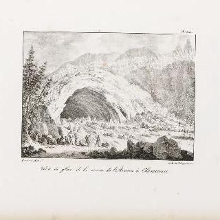 샤무니 지방, 아베롱 온천의 궁륭형 빙하 동굴