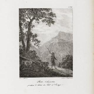 사오르지오 요새 포위 당시의 관측병