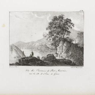 제노바 동쪽, 포르-모리스 근방 전경