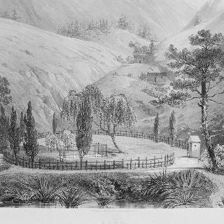 1840년, 세인트 헬레나 섬의, 제라니움 골짜기의 나폴레옹 1세 황제 묘