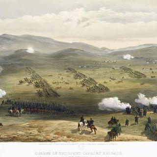 경기병 분대의 임무, 1854년 10월 25일