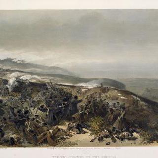 인케르만 전투에서 두 포를 재정비 할 때의 두 번째 방어 임무