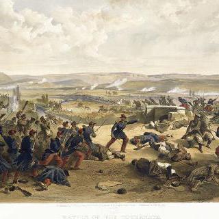 체르나야 전투. 1855년 8월 16일