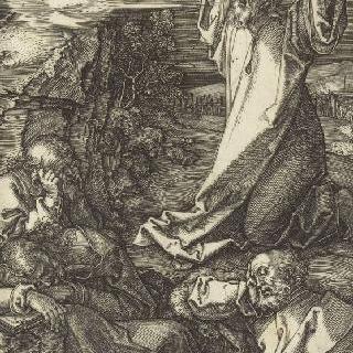 그리스도의 수난 (1507-1513). 몸을 세우고 있는 고통의 인자