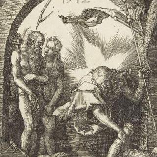 그리스도의 수난 (1507-1513). 후광을 발하는 그리스도