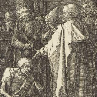 그리스도의 수난 (1507-1513). 문가의 성 베드로와 성 요한