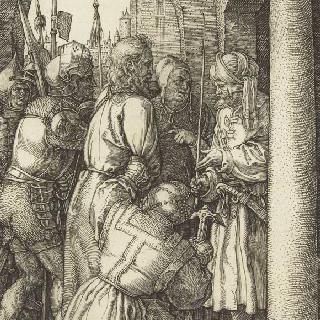 그리스도의 수난 (1507-1513). 빌라도 앞의 그리스도