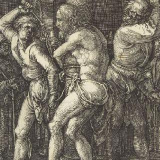 그리스도의 수난 (1507-1513). 채찍질