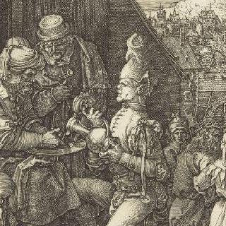 그리스도의 수난 (1507-1513). 손을 닦는 빌라도