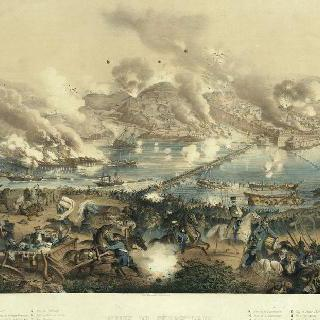 세바스토폴 함락. 도시를 불태운 후 물러난 러시아 군대 (1855년 9월 9일)