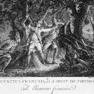 1760년 클로스테르캉 전투에서 사망한 아사스 기사