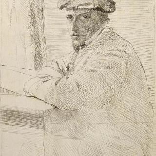 조각사 조셉 투르니 초상화