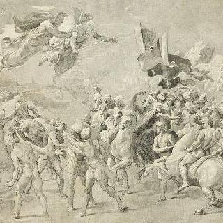 라파엘로풍의, 아틸라와 레옹 1세에게 현신한 성 베드로와 성 바울