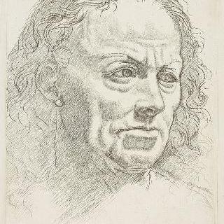 팔라 스포르제스카 명인 풍의 남자 초상화
