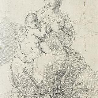 코레즈 풍 ()의 성모와 아기